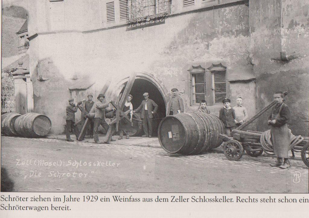 Zeller schlosskeller 1929