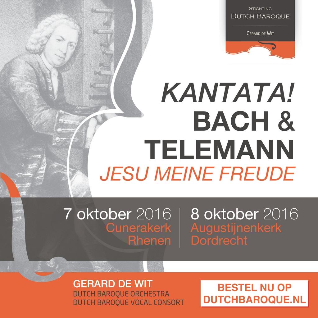 Kantata! Bach & Telemann Dordrecht