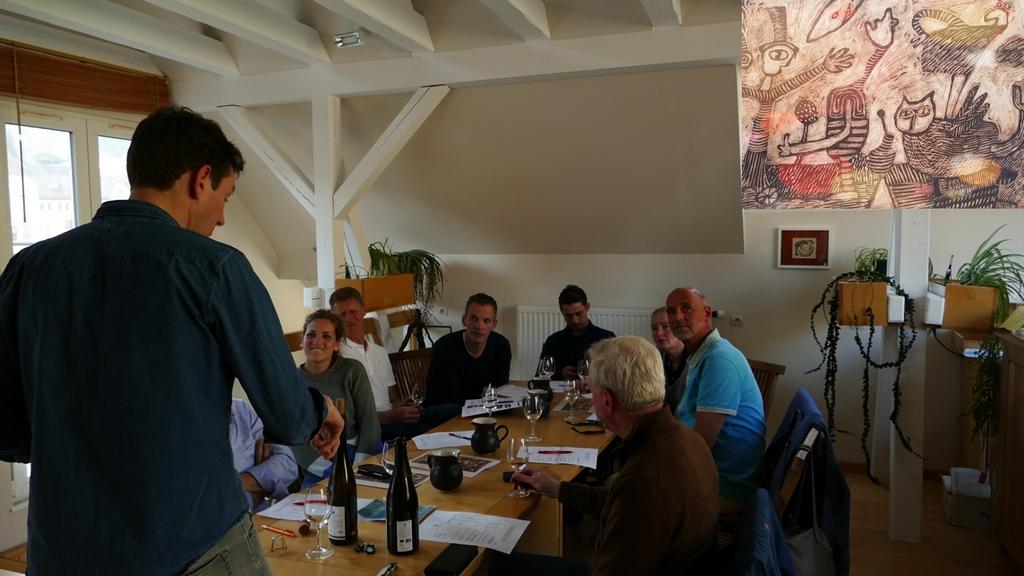 Elzasreis wijnprofessionals proefgroep 'Rechteroever'