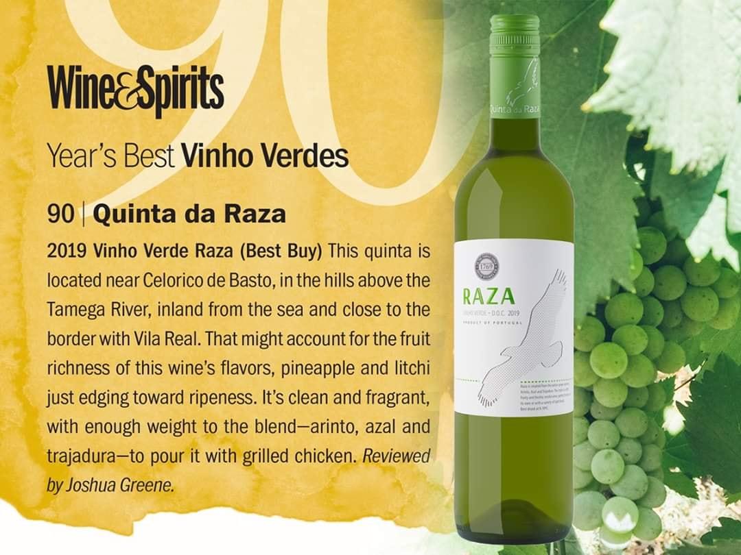 Vinho Verde Raza Branco