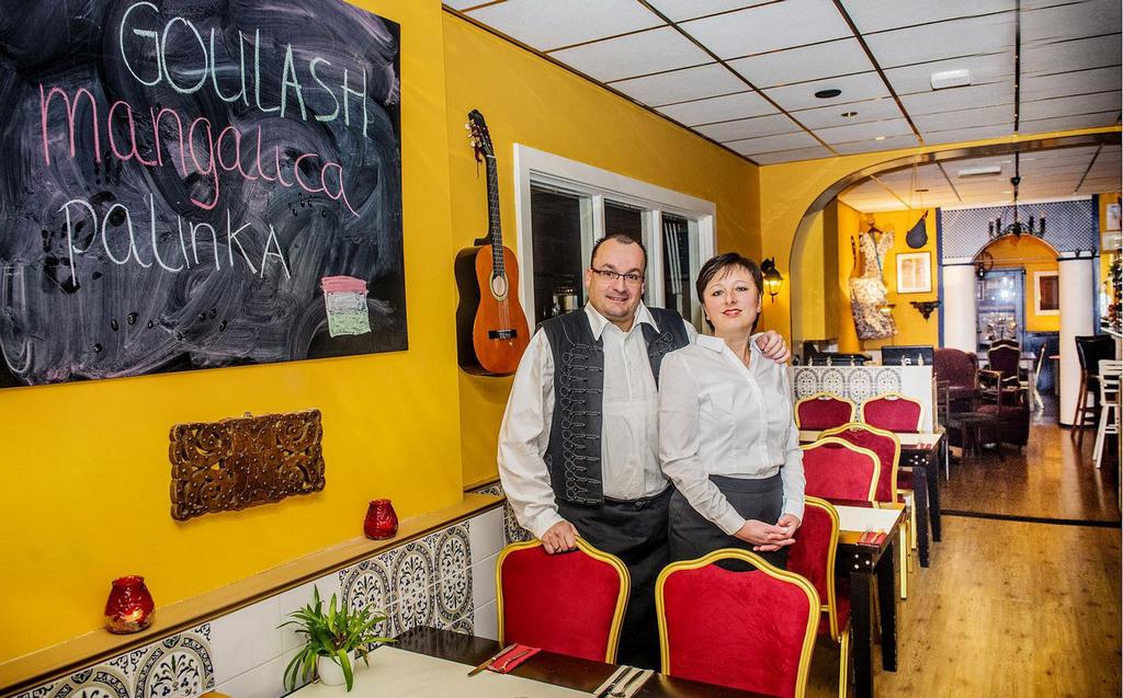 Hungarian Corner Hongaars restaurant